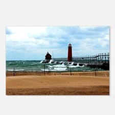 Lake Michigan Beach Postcards (Package of 8)