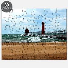 Lake Michigan Beach Puzzle