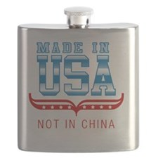 MADE IN USA - NOT IN CHINA Flask