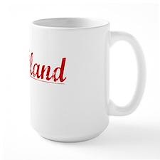 Strickland, Vintage Red Mug