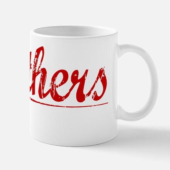 Struthers, Vintage Red Mug