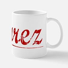 Suarez, Vintage Red Mug
