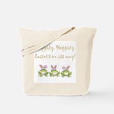 Hippity Frog Tote Bag