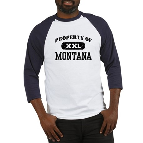 Property of Montana Baseball Jersey