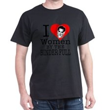 I love women by the binder full Mitt  T-Shirt