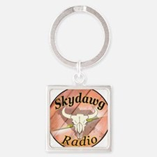 The Official Logo Square Keychain