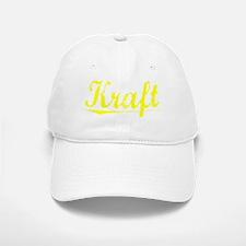 Kraft, Yellow Baseball Baseball Cap