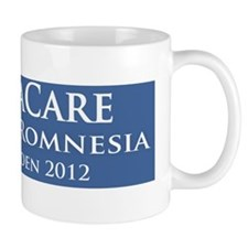 ObamaCare is the Cure for Romnesia! Mug