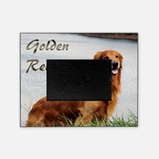 Golden Retriever Art Picture Frame