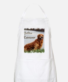 Golden Retriever Art Apron