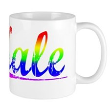 Kale, Rainbow, Small Mug
