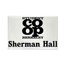 sherman hall Rectangle Magnet