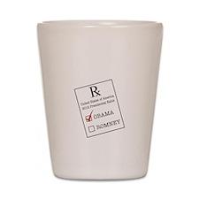 Romnesia Prescription Dark Shot Glass