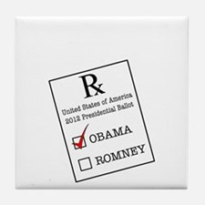 Romnesia Prescription Dark Tile Coaster