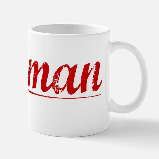 Tallman, Vintage Red Mug