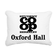 oxford hall Rectangular Canvas Pillow