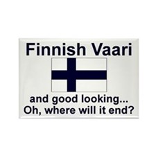 Finnish Vaari-Good Lkg Rectangle Magnet