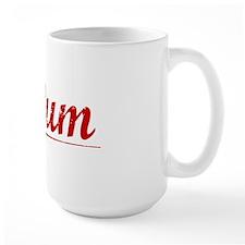 Tatum, Vintage Red Mug