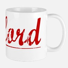 Telford, Vintage Red Mug