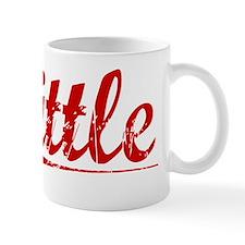 Tittle, Vintage Red Mug