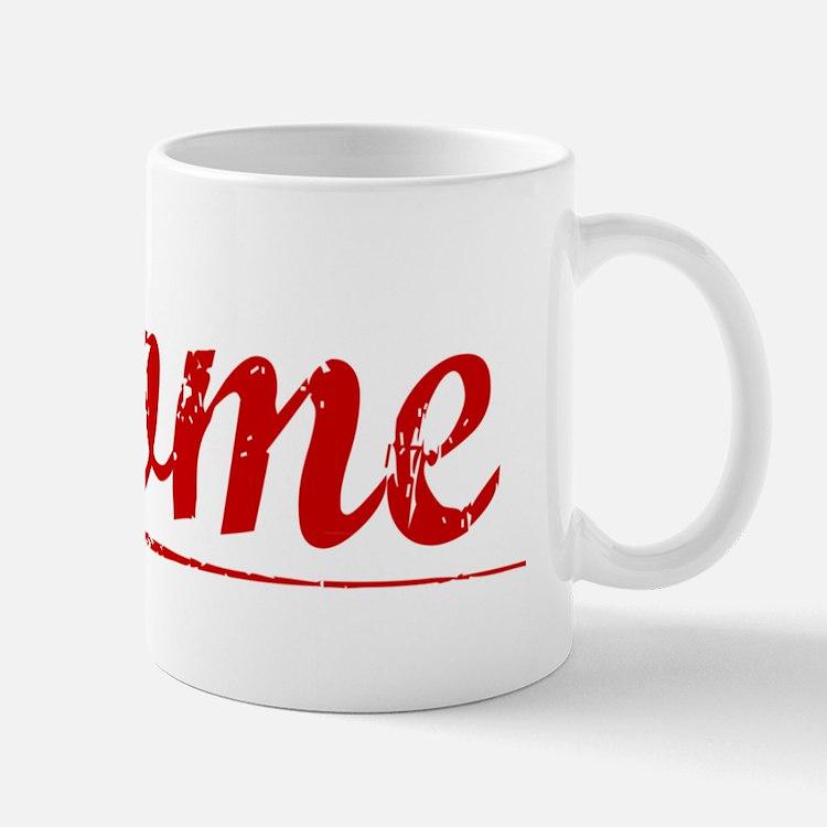 Thome, Vintage Red Mug