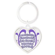 Crunchy Family Heart Keychain