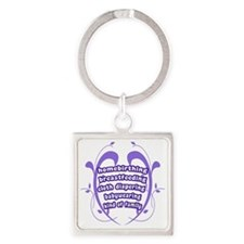 Crunchy Family Square Keychain