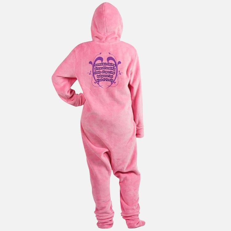 Crunchy Family Footed Pajamas