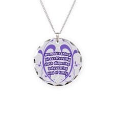 Crunchy Family Necklace Circle Charm
