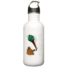 Funny Beaver Water Bottle