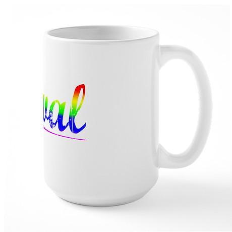 Koval, Rainbow, Large Mug