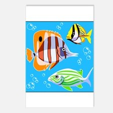 Saltwater Aquarium Fish Postcards (Package of 8)