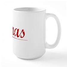 Tomas, Vintage Red Mug
