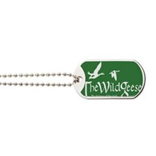 wg logo green Dog Tags