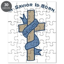 Savior Is Born Cross Puzzle