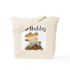 Autumn Girl I Love Bubby Tote Bag