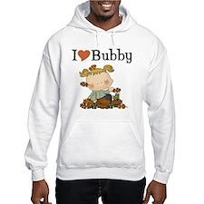 Autumn Girl I Love Bubby Hoodie