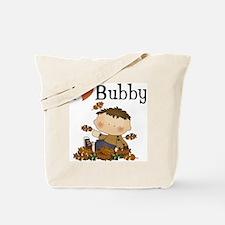 Autumn Boy I Love Bubby Tote Bag