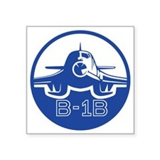 "B-1B Lancer Square Sticker 3"" x 3"""