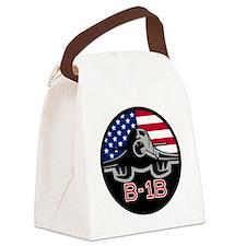 B-1B Bone Canvas Lunch Bag