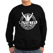 Unified MMA Logo White Sweatshirt