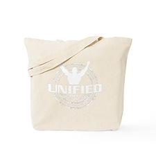 Unified MMA Logo White Tote Bag