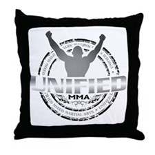 Unified MMA Logo Final - full color Throw Pillow