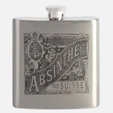Old Absinthe logo Flask
