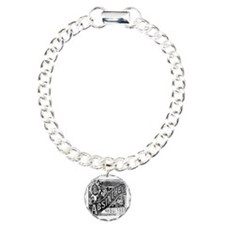 Old Absinthe logo Charm Bracelet, One Charm