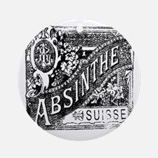 Old Absinthe logo Round Ornament