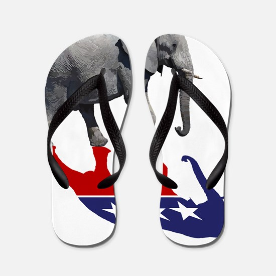 Rep Elephant Shadow Flip Flops