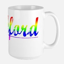 Lankford, Rainbow, Large Mug