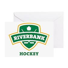Riverbank Shield Transparent Greeting Card