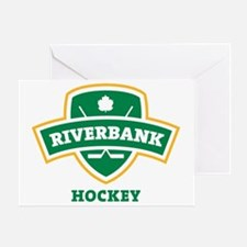 Riverbank Shield Transparent Greeting Card